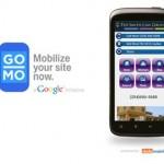 Google te Ofrece Crear tu Web en Formato Móvil Gratis con GoMo