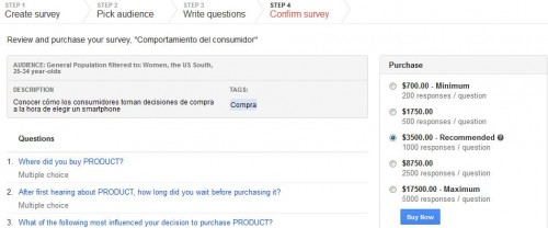 Google Consumer Surveys - Juan Merodio