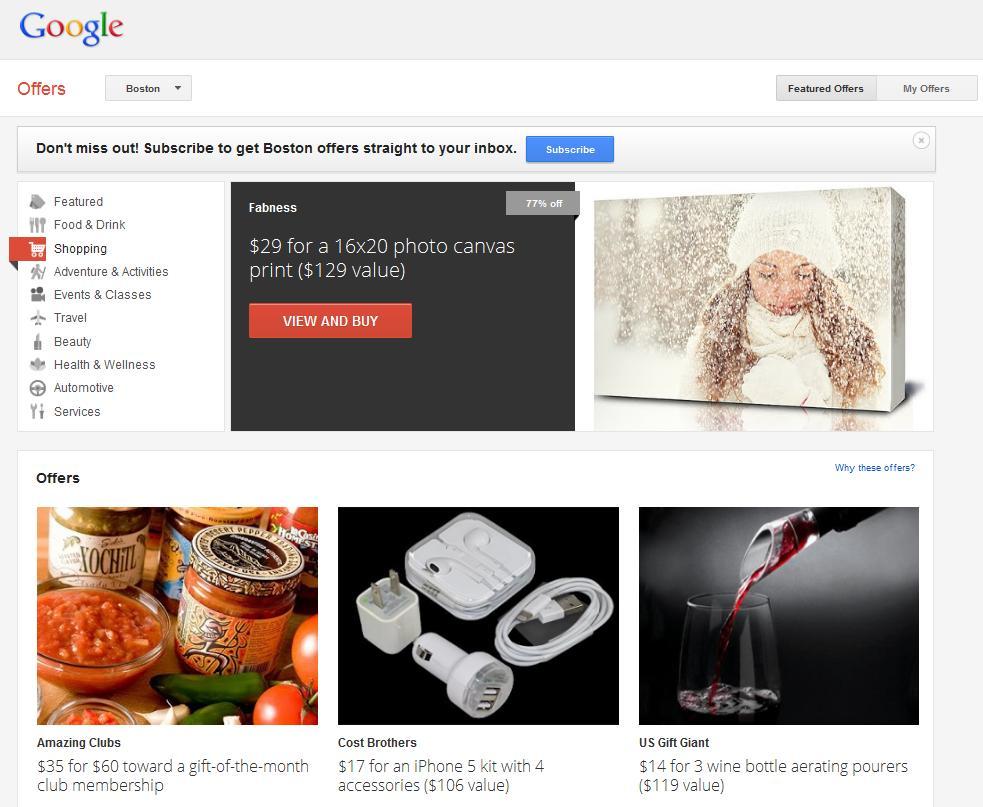 Google Offers, la Herramienta de Ofertas y Cupones de Google - Juan Merodio