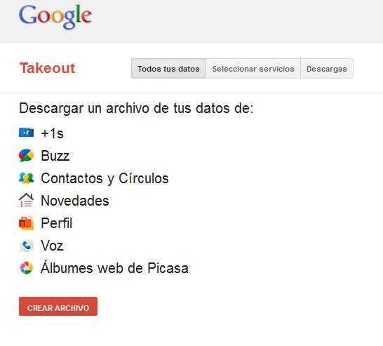 Google+ Takeout: haz una copia de seguridad de toda tu información - Juan Merodio