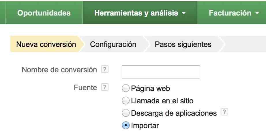 Importador de Adwords: funcionalidad que analiza conversiones offline - Juan Merodio