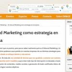 """Artículo: """"El Inbound Marketing como estrategia en la empresa"""""""