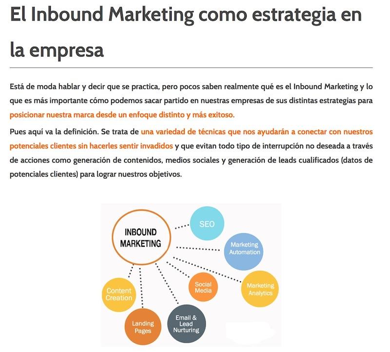 """Artículo: """"El Inbound Marketing como estrategia en la empresa"""" - Juan Merodio"""