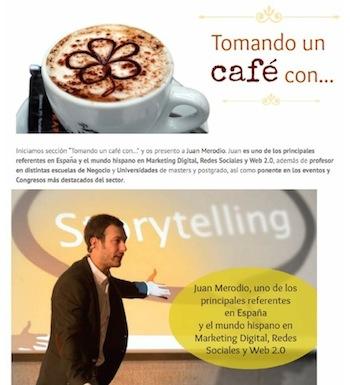 """Entrevista: """"10 consejos sobre redes sociales para PYMES jóvenes"""" - Juan Merodio"""