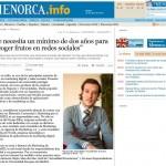"""Artículo: """"Se Necesita un Mínimo de Dos Años para Recoger Frutos en Redes Sociales"""""""
