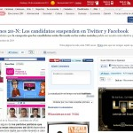 """Noticia: """"Los políticos españoles suspenden en 2.0 y Redes Sociales"""""""