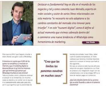 """Entrevista: """"WhatsApp como Elemento de Marketing"""" - Juan Merodio"""