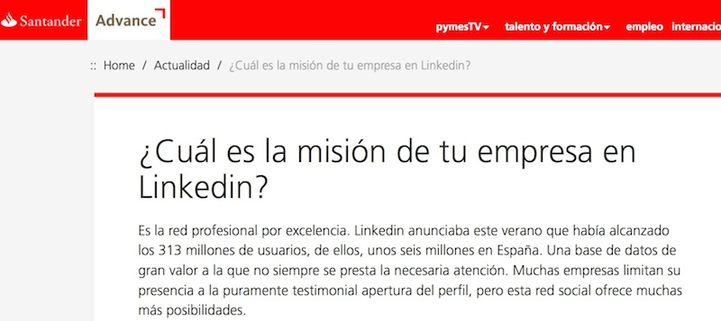 linkedin-santander-advance