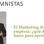 """Artículo: """"El Marketing Social en la empresa: ¿Qué hacer?"""""""