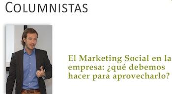 """Artículo: """"El Marketing Social en la empresa: ¿Qué hacer?"""" - Juan Merodio"""