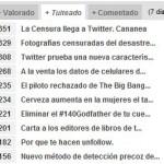 Usa Bitácoras para conocer lo más tuiteado del momento en España