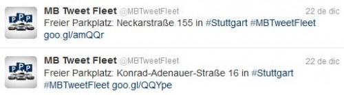 Tweet Fleet,: Servicio basado en Twitter para buscar Aparcamiento - Juan Merodio