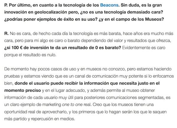 """Entrevista: """"Uso de las redes sociales en museos"""" - Juan Merodio"""
